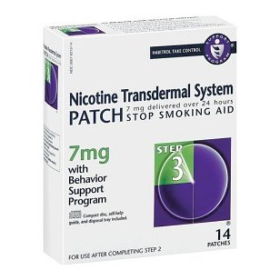 Habitrol nicotine transdermal system step 3, 7mg stop smoking aid