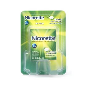 Nicorette gum fresh mint 2 mg