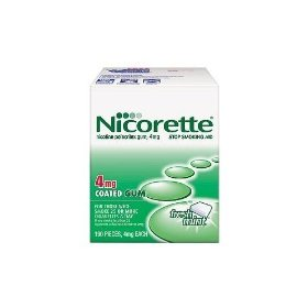 Nicorette gum fresh mint 4 mg