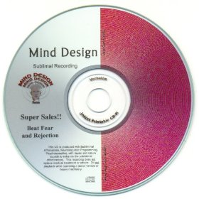 Get super sales! beat fear and rejection! subliminal cd with (nlp) neurolinguistic programming imbedded in soothing music and calming sounds of ocean waves