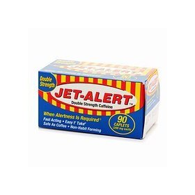 Jet-alert 200 mg each caffeine tabs 90 count