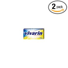 Vivarin alertness aid with caffeine-coated caplets, 24-count packages (pack of 2)