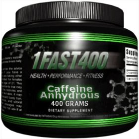 1fast400 caffeine anhydrous, 400-grams