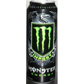 8 pack - monster import energy drink - 18.6oz.