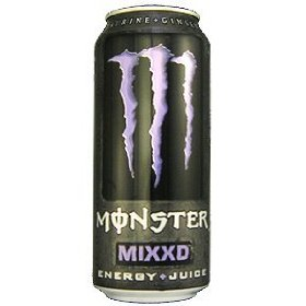 16 pack - monster mixxd energy & juice - 16 ounce