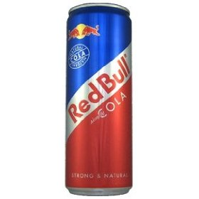 16 pack - red bull - simply cola - 12oz.