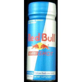 48 pack - red bull energy shot - sugar free - 2oz.