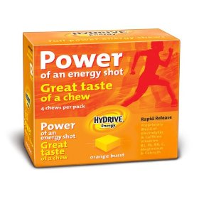Hydrive energy chews - orange burst ~12 pack~