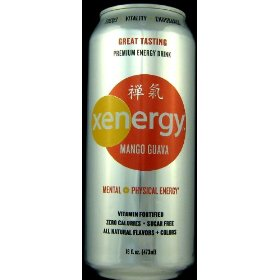 16 pack - xyience xenergy - mango guava - 16oz.