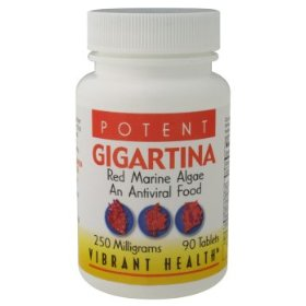Vibrant health gigartina rma, 250 mg capsules, 90-count