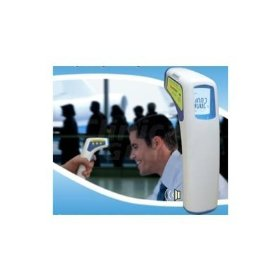 Professional clinical ry100 large lcd non-contact infrared thermometer - forehead (fahrenheit readings)