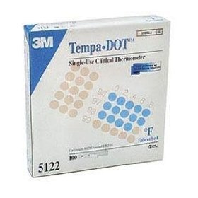 Tempadot disposable single use thermometers 100/box