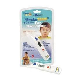Mabis tendertemp tender tykes instant ear thermometer digital one, (1)-second