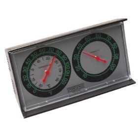 Taylor precision products hygrometer/thermometer thermometers indoor wall
