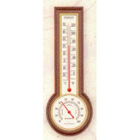 Taylor precision products ind/out thermometer 90116 thermometers indoor wall